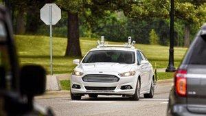 Ford Fusion autónomo con el que la marca ha probado sus sistemas en Estados Unidos.