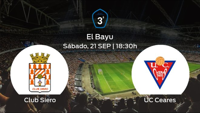 Previa del partido: el Club Siero recibe al UC Ceares en la quinta jornada