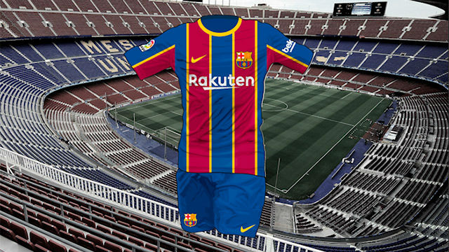 official photos 14546 ea5f7 Exclusive: First look at Barça's 2020-21 shirt reveals ...