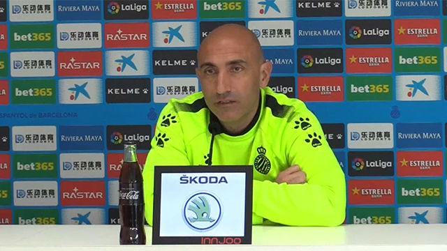 Abelardo: Necesitamos otro partido como el del Sevilla para ganar