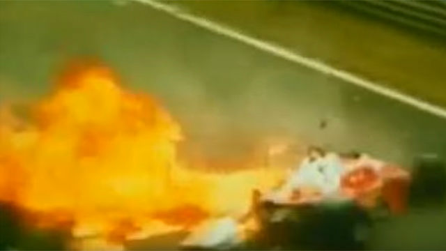 El accidente que marcó para siempre la vida de Niki Lauda