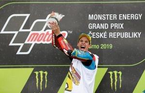 Àlex Márquez , tras su victoria en Brno