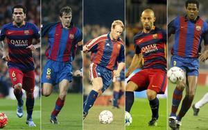 Alves es el fichaje extranjero con más partidos de la historia del Barça