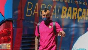 Arturo Vidal no tiene duda de que el FC Barcelona eliminará al Bayern