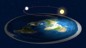 Así explican los eclipses los defensores de que la Tierra es plana