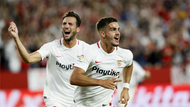 Así fue el primer gol del Sevilla