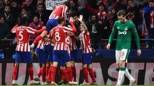 El Atlético quiere trasladar su buen momento en Europa a LaLiga.