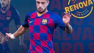 Ávaro Sanz, renovado hasta 2023