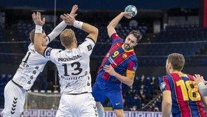 El Barça asaltó la pista del Kiel