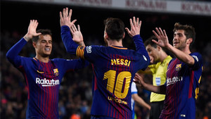 El Barça busca su primer título de la temporada