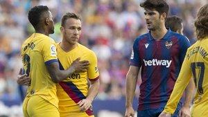 El Barça cayó en el Ciutat de València
