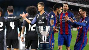 Barça y Real Madrid se juegan la Liga