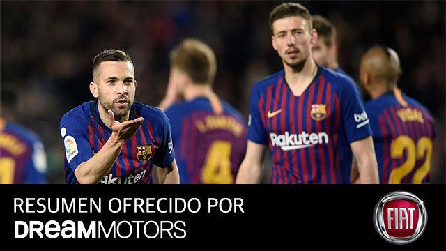 Un Barça sin brillo se acerca el título tras vencer a la Real