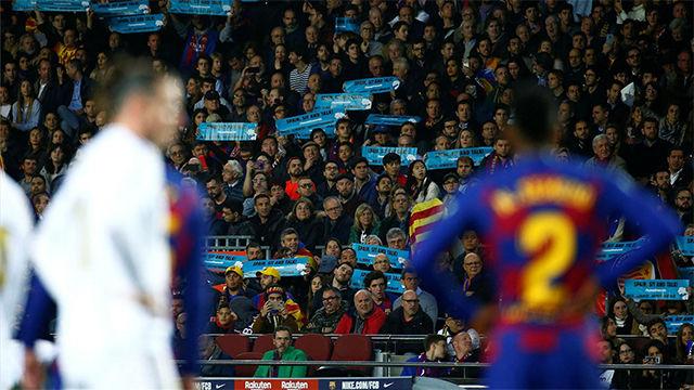 El Barça sobrevivió al tsunami blanco
