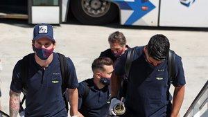 El Barça ya vuela hacia Valladolid