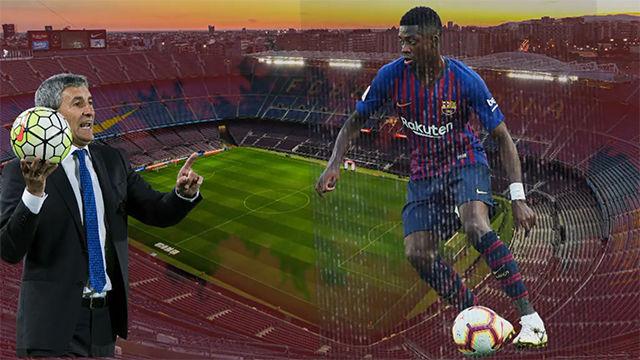El Barcelona busca sustitutos para Dembélé