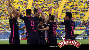 El Barcelona dio una exhibición ofensiva en el estadio Gran Canaria