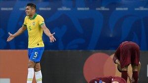 Casemiro confesó que sería difícil para el Madrid la vuelta de Neymar