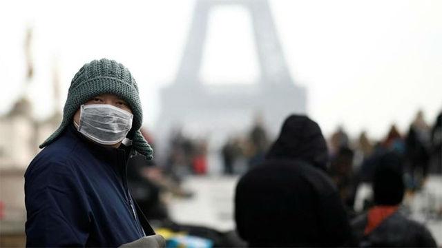 Un chino, primer muerto en Europa del coronavirus en un hospital de París