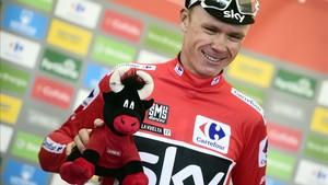 Chris Froome, vigente ganador de La Vuelta