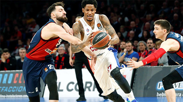 El CSKA aleja al Baskonia de la Final Four
