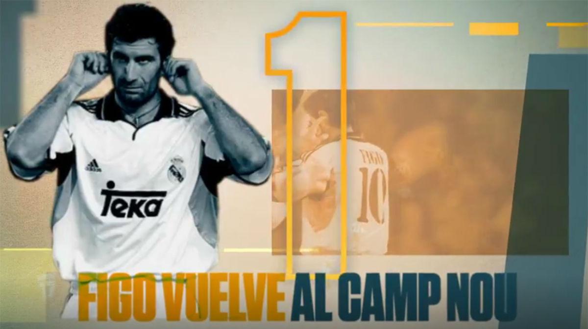 Se cumplen 20 años del fichaje de Figo por el Real Madrid