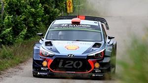 Dani Sordo no tuvo suerte en el último Rally RACC de Catalunya