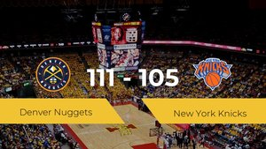 Denver Nuggets se hace con la victoria en el Pepsi Center contra New York Knicks por 111-105