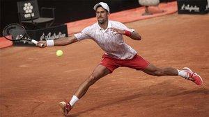 Djokovic se mete en semis de Roma