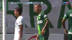 Douglas Grolli marcó el primer gol del Chapecoense