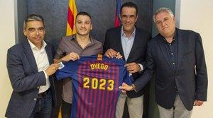 Dyego seguirá en las filas del Barça Lassa hasta junio de 2023