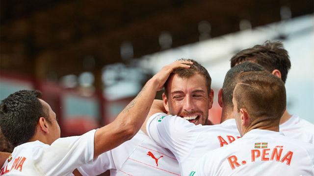 El Eibar se lleva los tres puntos de Montilivi en un partido loco