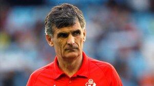 El entrenador del Eibar Jose Luis Mendilibar