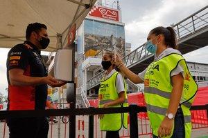 El GP de España arranca bajo grandes medidas de seguridad