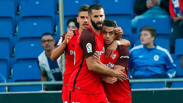 El Espanyol paga los platos rotos del Sevilla