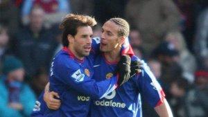 Ferdinand reveló el pique de su excompañero Van Nistelrooy con Henry