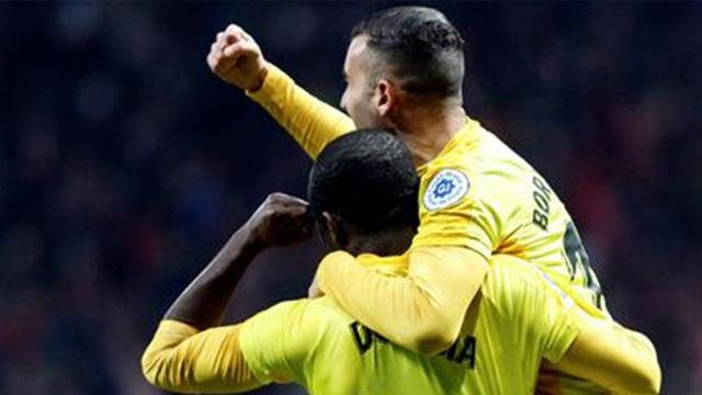 Un gol (otro) histórico: Así eliminó Doumbia al Atlético de Madrid de La Copa