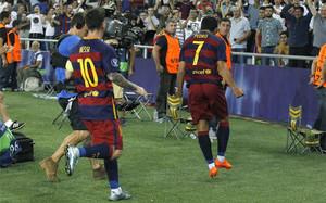 El gol de Pedro desató la locura
