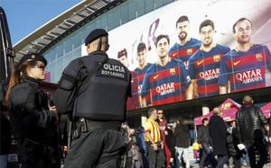 Habrá medidas especiales de seguridad en el FC Barcelona - Arsenal
