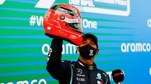 Hamilton habló largo y tendido sobre Michael Schumacher