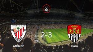 El Haro Deportivo vence 2-3 en el feudo del Bilbao Ath.