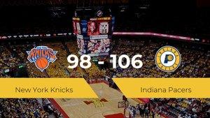 Indiana Pacers gana a New York Knicks por 98-106