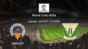 Jornada 9 de la Segunda División: previa del duelo Sabadell - Leganés