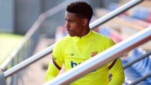 Junior Firpo, baja ante el Espanyol