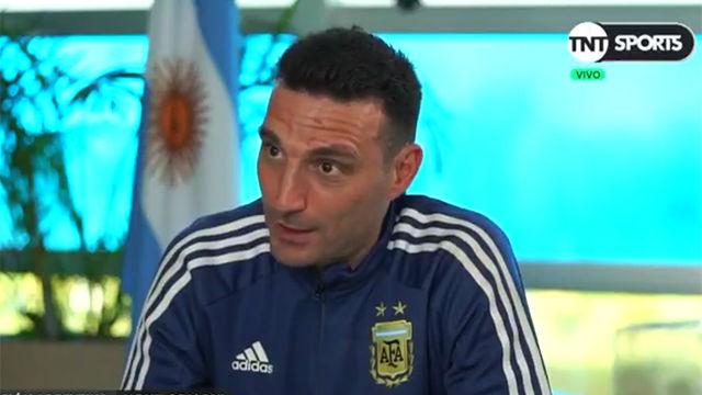 Las controvertidas declaraciones de Scaloni sobre Messi