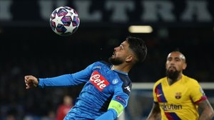 Lorenzo Insigne va cumpliendo etapas para medirse al FC Barcelona