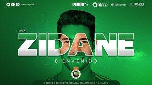 Luca Zidane ya es nuevo jugador del Racing