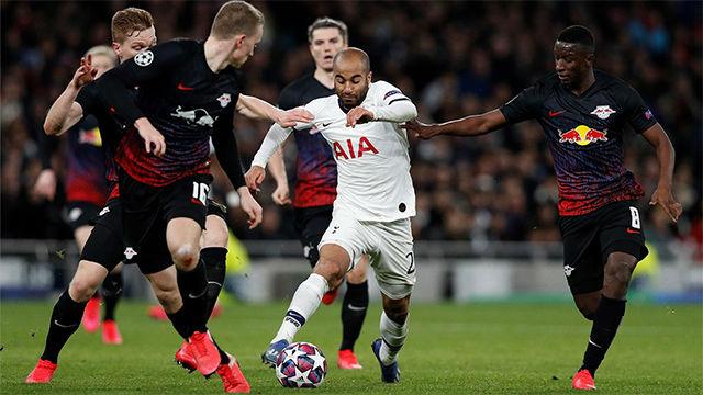 Lucas Moura obre hacer de Kane