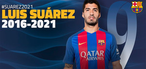 Luis Suárez seguirá vinculado hasta el 2021 con el FC Barcelona