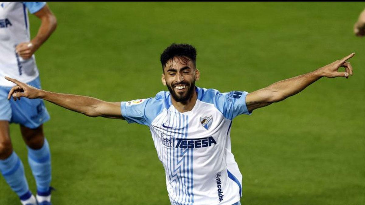 El Málaga se impone por la mínima al Sporting